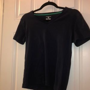 Navy Jones New York Sport Classic V Neck T-Shirt